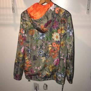 845417764842 Gucci Jackets & Coats | Windbreaker Floral Print | Poshmark